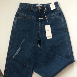 Anthropologie CLOSED Pedal Pusher High Waist Jeans